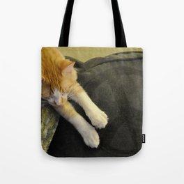 Peaceful Cat Tote Bag