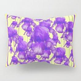 I LOVE PURPLE IRIS Pillow Sham