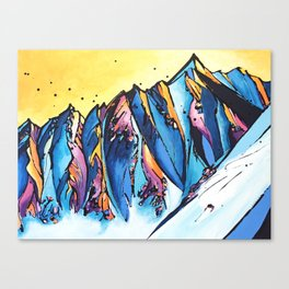 The Chugach Canvas Print