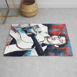 Father of Rock Rug