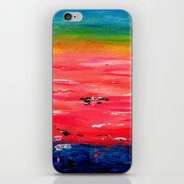 Crimson Sunset iPhone Skin