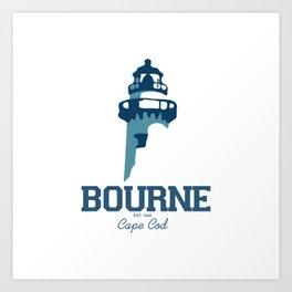 Bourne Cape Cod Art Print
