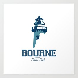 Bourne Cape Cod Art Print