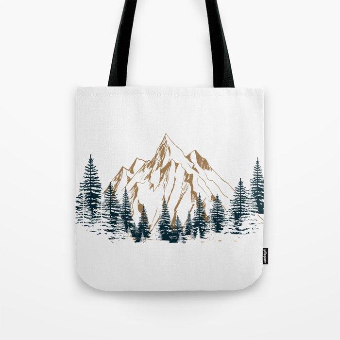 mountain # 4 Umhängetasche