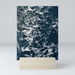 Blue Sea Mini Art Print