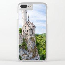 Lichtenstein castle Clear iPhone Case