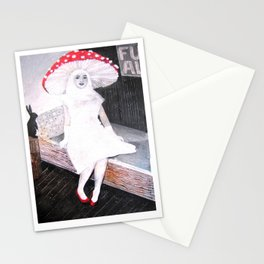 AMANITA MUSCARIA LOVES YOU Stationery Cards