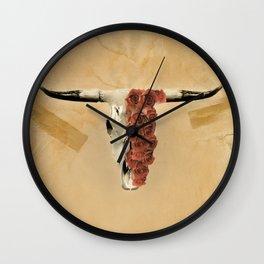 Harley and Rose Wall Clock