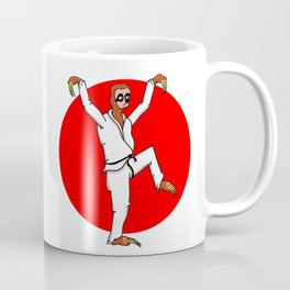 Sloth Karate Coffee Mug