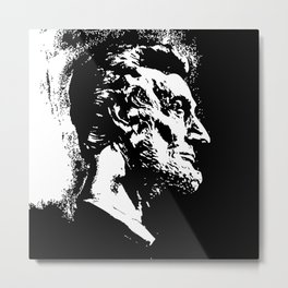 Face Lincoln Metal Print