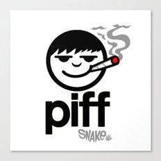 p i f f  Canvas Print