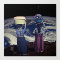 planet Canvas Prints featuring Planet by Cs025