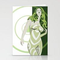 vertigo Stationery Cards featuring Vertigo by Andrew Formosa
