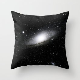 star bw Throw Pillow