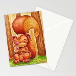La creadora de los bosques.  Stationery Cards