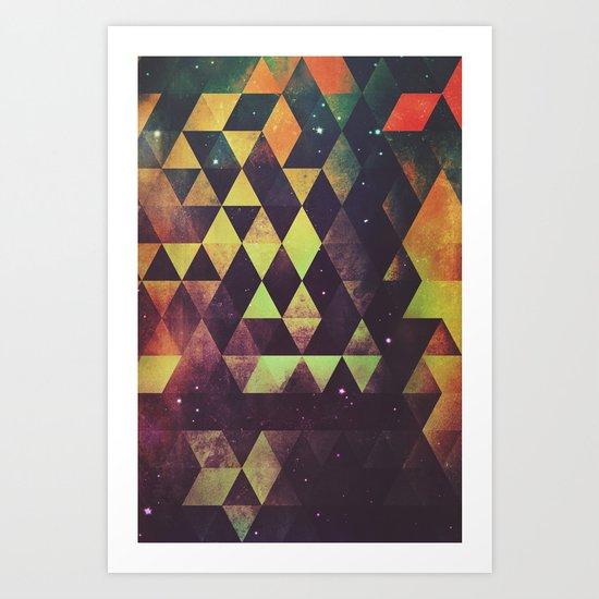 yrgyle nyyt Art Print