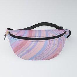 Pink & Purple Swirls Fanny Pack