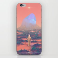 Lost Astronaut Series #02 - Giant Crystal iPhone & iPod Skin