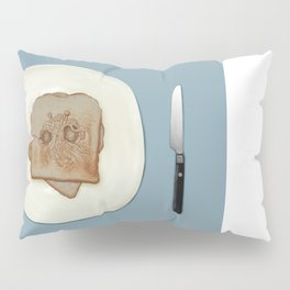 Blessed Noodley Appendages On Toast Pillow Sham
