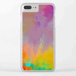 Expressions 1 Clear iPhone Case