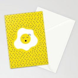 Eggs emoji Stationery Cards