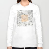 marble Long Sleeve T-shirts featuring Marble by Marta Olga Klara