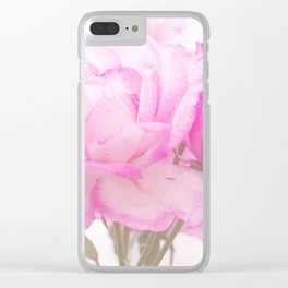 Light Pink Blend Rose #1 #floral #decor #art #society6 Clear iPhone Case