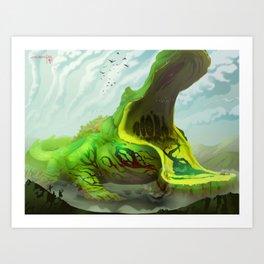 Wetlands Giant Art Print
