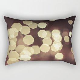 Glitzy Gold Rectangular Pillow