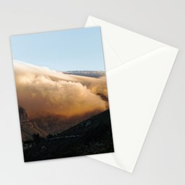 Crowned in clouds Stationery Cards