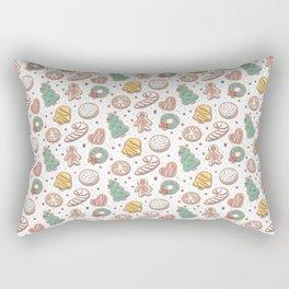 Christmas Cookies Rectangular Pillow