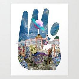Sadahtay_Blowfly Art Print