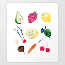Veggie Heaven #society6 #society6artprint #buyart Art Print