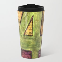 Journey by Number: 4 Repeated Travel Mug