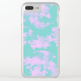 Abstract pastel seamless pattern Clear iPhone Case