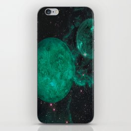 Cerulean the Wandering Star iPhone Skin