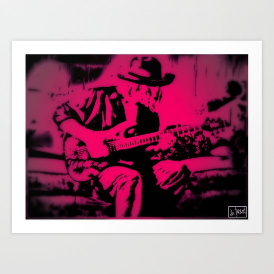 Rock N' Roll Gypsy 2 Art Print