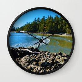 Tofino, Vancouver Island BC Wall Clock