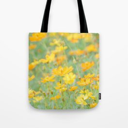 Small yellow flower Tote Bag