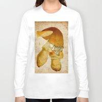 the mortal instruments Long Sleeve T-shirts featuring Mortal mushroom by Joe Ganech