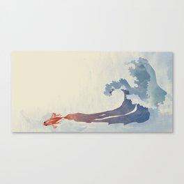 Fish effect Canvas Print