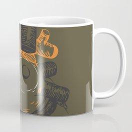 the tell tale heart. green eye Coffee Mug