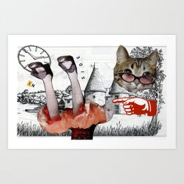 Homage to Alice Art Print