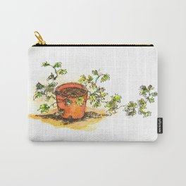 Potted plant still life Carry-All Pouch
