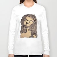 lions Long Sleeve T-shirts featuring Lions by Zora Chen