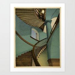 Ascending Art Print