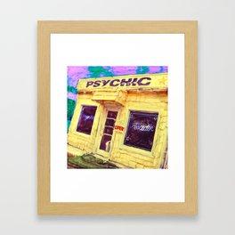 PSYCHIC Framed Art Print