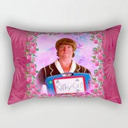 Kathy = CEO of 30 Rock Rectangular Pillow