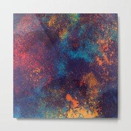 Colorful mix art Metal Print