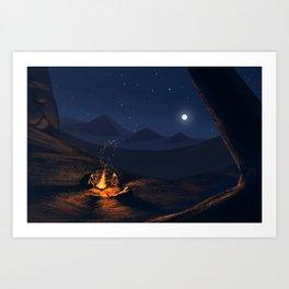 Sands Art Print